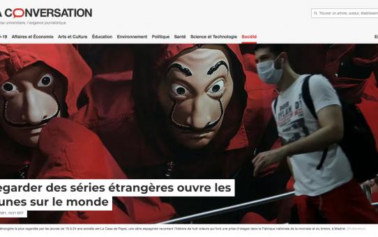 Les séries étrangères sur les plateformes SVOD : une fenêtre sur l'Autre pour les jeunes adultes Québécois